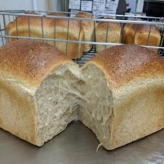 stone ground whole wheat loaf