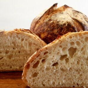100% certified organic white sourdough