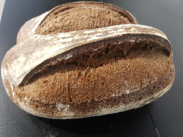 organic wholewheat sourdough