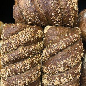 organic whole-wheat grain sourdough